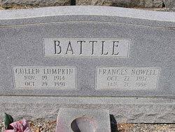 Carrie Frances <i>Nowell</i> Battle