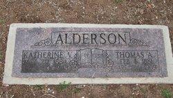 Katherine Virginia Jenny <i>Davis</i> Alderson