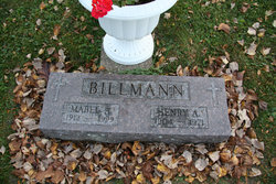 Mabel A. <i>Spieker</i> Billmann