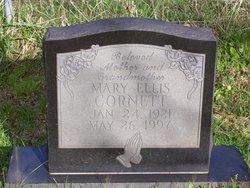 Mary Ellis <i>Combs</i> Cornett