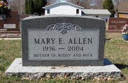 Mary E. <i>Jessop</i> Allen