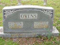 Beverly B Owens