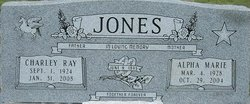 Alpha Marie Marie <i>Robbins</i> Jones