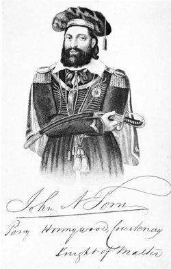 John Nicholls Sir William Percy Honywood Courtenay Tom