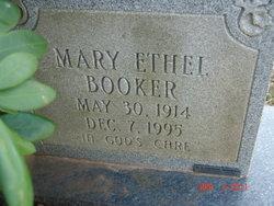Mary Ethel Booker
