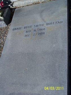 Onnie Ruth <i>Smith</i> Holland