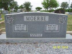 Mary B <i>McDaniel</i> Moerbe