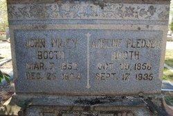 John Wiley Booth