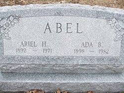 Ada Belle <i>Barr</i> Abel