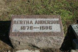 Bertha <i>Flora</i> Anderson