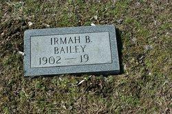 Irmah B. Bailey