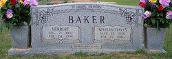 Marian Jeanette Nanny <i>Davis</i> Baker