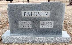 Fannie Leota <i>Tiffany</i> Baldwin