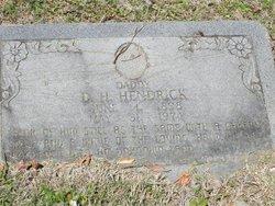 D. H. Hendrick