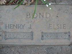 Henry Jasper Bond