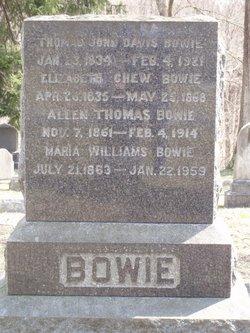 Thomas Johns Davis Bowie
