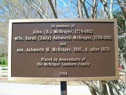 John B McBrayer