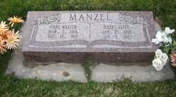 Hazel Alice <i>Taylor</i> Manzel