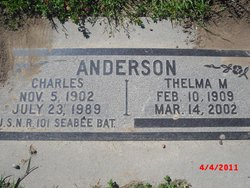 Thelma May <i>Ireland</i> Anderson