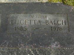 Lucetta Balch