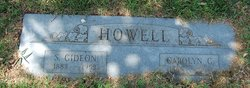 Carolyn Kennedy Carrie <i>Gaston</i> Howell