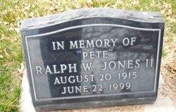 Ralph Wilson Pete Jones, II