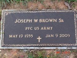 PFC Joseph W Brown, Sr