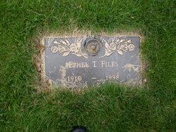 Ethel <i>Timberlin</i> Files