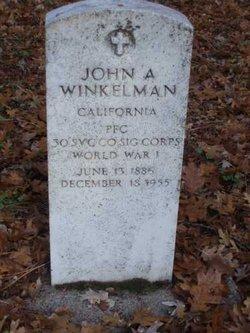 John A. Winkelman