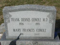 Dr Frank Dennis Conole