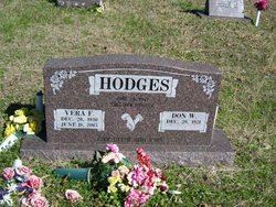 Vera Faye <i>Stafford</i> Hodges