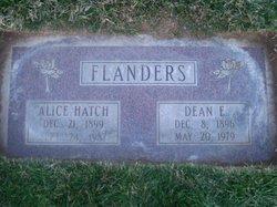 Alice <i>Hatch</i> Flanders