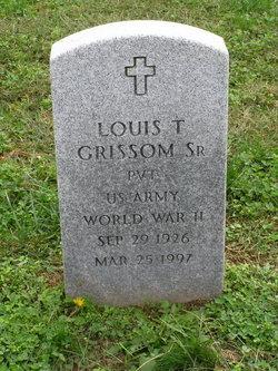 Louis T Grissom, Sr