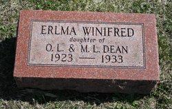 Erlma Winifred Dean