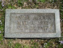 Anna Acock