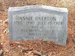 Annie Mae <i>Overton</i> Bullock