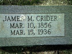 James Monroe Crider