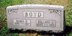 Mabel D <i>Butler</i> Boyd
