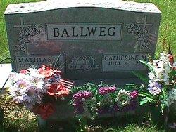 Catherine M Katie <i>Bong</i> Ballweg