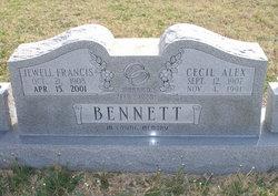 Jewell Francis <i>Hood</i> Bennett