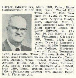 Edward Ivy Ted Harper