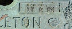 Margaret Louise <i>Yancey</i> Littleton