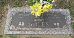 Mattie Pearl <i>Bridgers</i> Boles