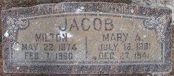 Mary Augusta <i>Carlson</i> Jacob