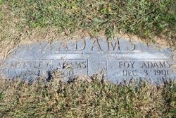 Foy Adams
