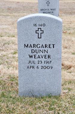 Margaret <i>Dunn</i> Weaver