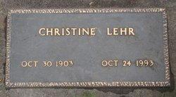 Christine <i>Gohner</i> Lehr