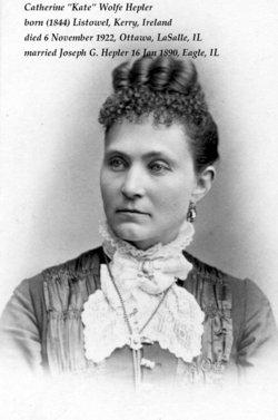 Catherine Kate <i>Wolfe</i> Hepler