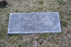 PFC Joseph W McNear