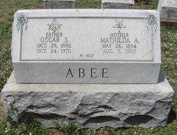 Mathilda Annie Abee